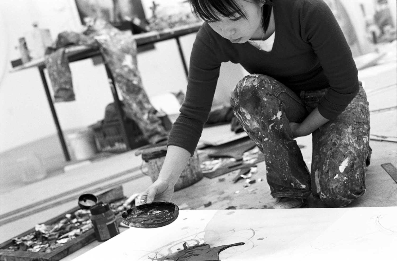 Künstlerfotos Malerei